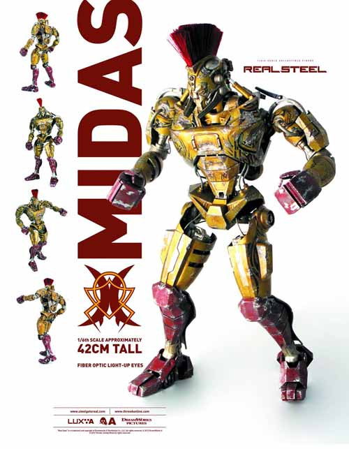Real Steel Midas 1/6 Scale Figure -- Hugh Jackman -- OCT121801
