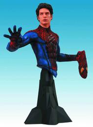 Amazing Spider-Man Movie Maskless Spider-Man Bust -- APR121692