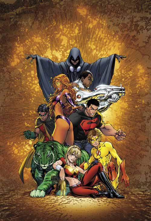 Teen Titans Omnibus By Geoff Johns HC -- SEP120242
