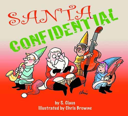 Santa Confidential HC Sketch Edition -- SEP121086
