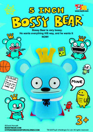 Bossy Bear 5In Vinyl Figure Assortment -- APR121714