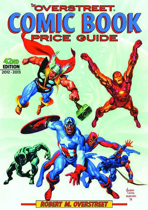 Overstreet Comic Book Price Guide HC Vol 42 Avengers -- SEP121114
