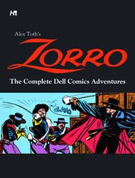Alex Toth Zorro Comp Dell Comics Adventures HC -- SEP121126