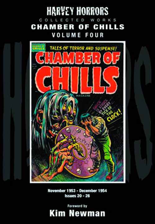 Harvey Horrors Collected Works Chamber Of Chills HC Vol 04 -- SEP121162