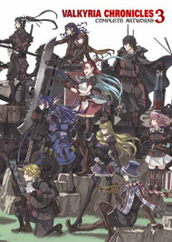 Valkyria Chronicles SC Vol 03 Complete Artworks -- SEP121216