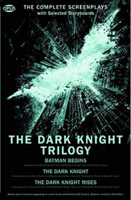 Dark Knight Trilogy Complete Screenplays w/ Storyboards -- SEP121397