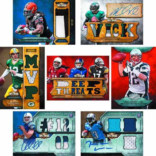 Topps 2012 Triple Threads Football Trading Cards T/C Box -- SEP121416