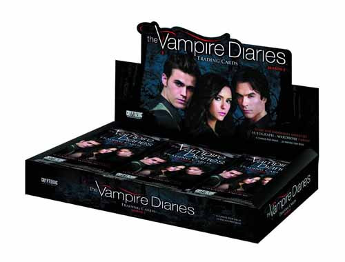 Vampire Diaries Trading Cards T/C Box -- Cryptozoic -- SEP121419