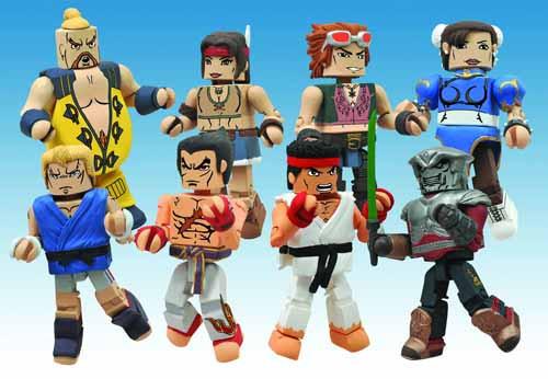 Street Fighter X Tekken Series 2 Minimates Assortment -- SEP121672