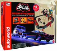Auto World Batman Pursuit Penguin Slot Car Set -- SEP121692