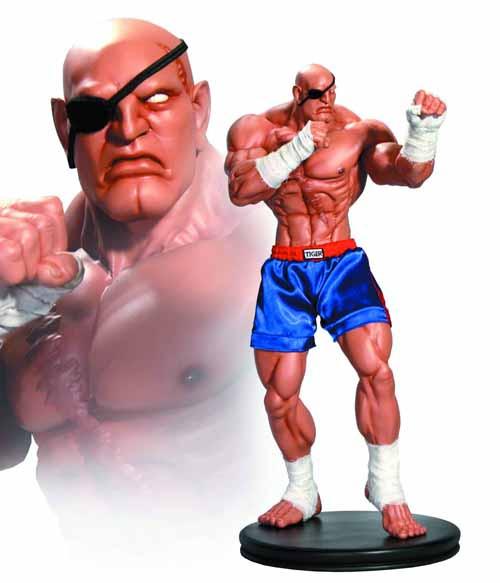 Street Fighter 1/4 Scale Sagat Statue -- Pop Culture Shock -- SEP121777