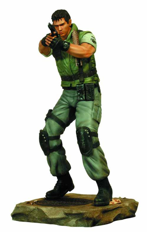 Resident Evil Chris Redfield 1/6 Scale Statue -- SEP121778