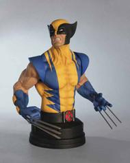 Wolverine Yellow Mini-Bust--X-Men Marvel Gentle Giant -- APR121782