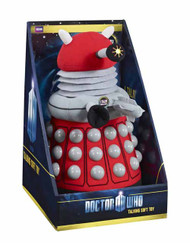 Doctor Who Deluxe Talking Red Dalek Plush -- SEP121811