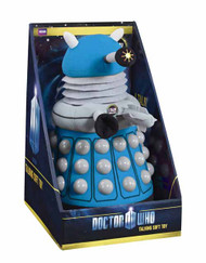 Doctor Who Deluxe Talking Blue Dalek Plush -- SEP121812