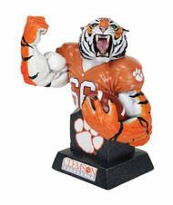 MX Collectibles Clemson Tigers Mascot Bust -- APR121788
