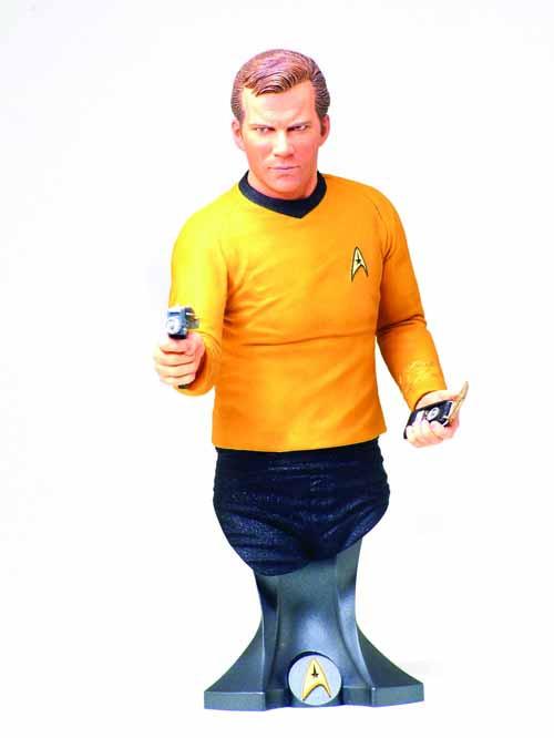 Star Trek Captain James T Kirk Mini Bust -- Titan -- SEP121835