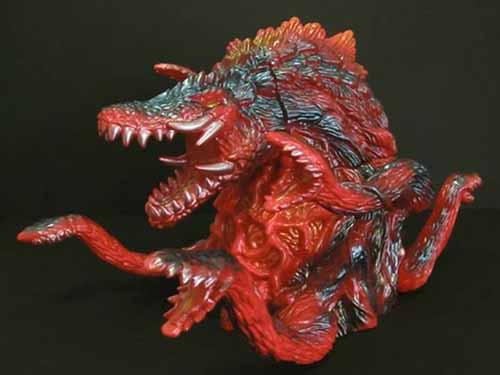 Monster Heaven Biollante Soft Vinyl Figure Adult Version -- SEP121843