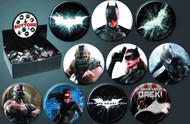 Batman Dark Knight Rises TDKR 144 Piece Button Assortment -- SEP121917