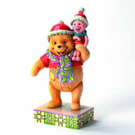 Disney Traditions Christmas Pooh & Piglet Figure -- SEP122040