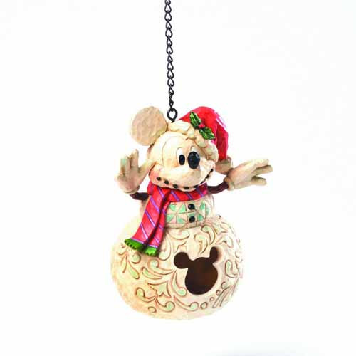 Disney Traditions Holiday Mickey Birdhouse -- SEP122046