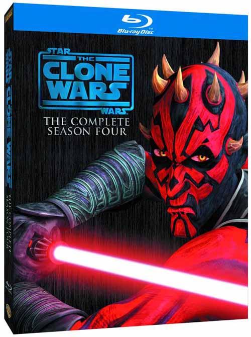 Star Wars Clone Wars Blu-Ray BD Season 04 -- SEP122111