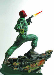 Red Skull Action Statue -- Avengers Captain America Bowen -- SEP132005