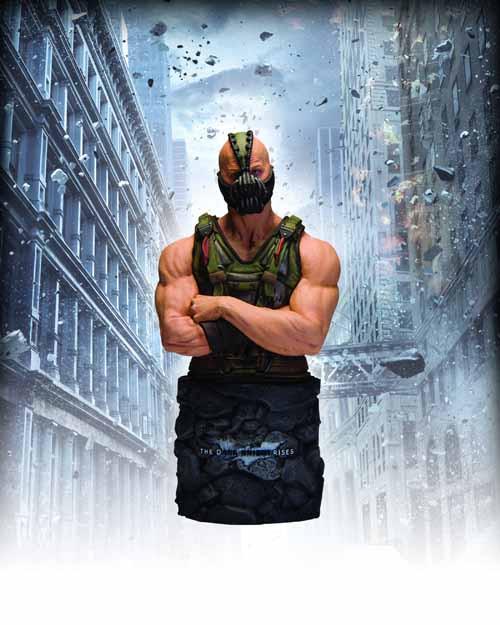 Dark Knight Rises Bane Bust -- Batman DC Direct DCU -- MAR120293