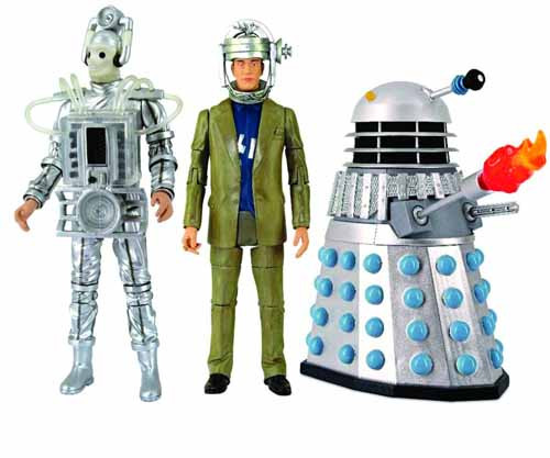 Doctor Who Enemies Of The 1st Doctor Action Figure Set -- DEC121729