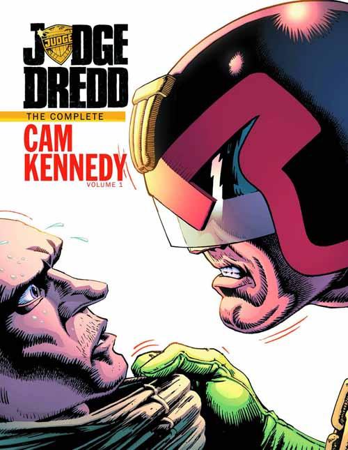 Judge Dredd Cam Kennedy Collection HC Vol 01 -- MAR130343