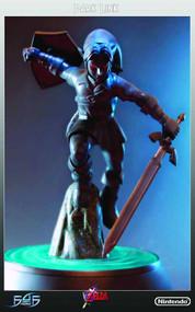 Loz Dark Link Statue -- Legend of Zelda First4Figures -- SEP121849