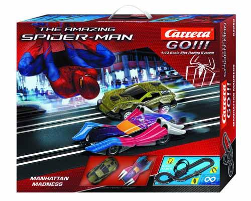 Spider-Man Manhattan Madness 1/43 Slot Car Track Set -- MAY121781