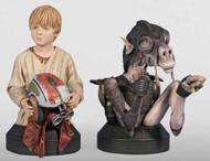 Star Wars Sebulba & Anakin Mini-Bust 2-Pack -- DEC111748