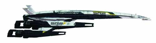 Mass Effect Normandy SR2 Cerberus Ship Replica--Dark Horse -- SEP120067