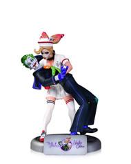 DC Comics Bombshells Joker & Harley Quinn Statue -- MAY150291