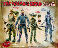 Walking Dead Comic Series 4 Abraham Action Figure Case -- MAY150634