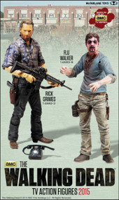 Walking Dead TV Series 7 Action Figure Wv2 Flu Walker Case -- MAY150641