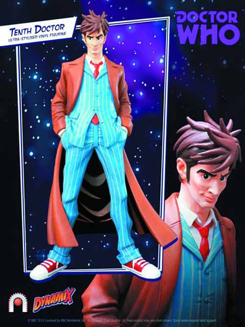 Doctor Who 10th Doctor Dynamix Vinyl Figure -- APR121825