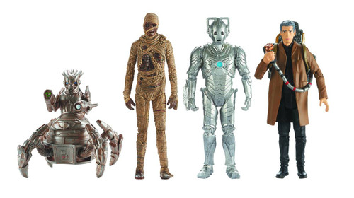 Doctor Who 3.75in Action Figure 12pc Assortment Wave 4 -- MAY152268
