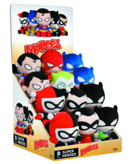 Mopeez DC Comics 12pc Plush Figure Display -- MAY152287