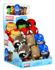 Mopeez Marvel Comics 12pc Plush Figure Display -- MAY152288