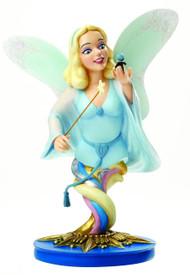 Disney Grand Jester Blue Fairy & Jiminy Cricket Mini-Bust -- MAY152404