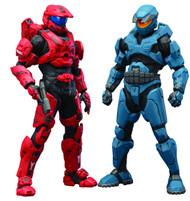 Halo Mjolnir Mark V & Mark VI DX ARTFX+ Statue 2pk -- MAY152430