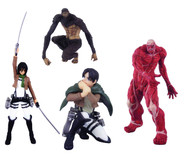 Attack On Titan Capsule Toys 30ct Ds -- MAY152455