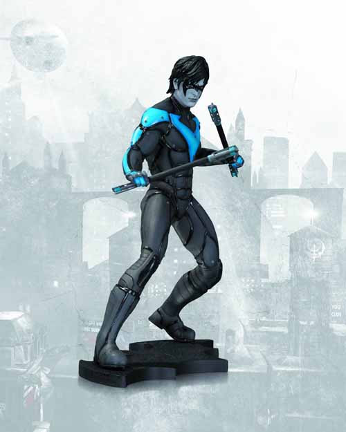 Batman Arkham City Nightwing Statue -- Dark Knight Robin DC Comics -- APR130283