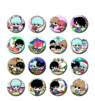 Gintama Yorozuya Fortune Badge Calendar 16pc Ds -- MAY152500