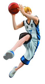 Kurokos Basketball Ryoya Kise White Uniform PVC Figure -- MAY152502