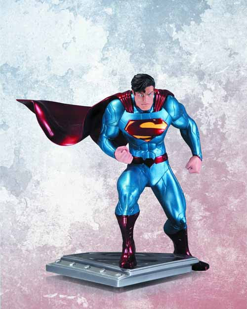 Superman Man Of Steel Statue By Jim Lee -- Unchained Scott Snyder -- APR130288
