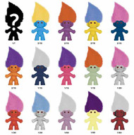 Good Luck Trolls 2.5 In Figure Mystery Box Assorted -- AUG120127