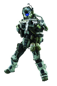 Titanfall IMC Battle Rifle Pilot 1/6 Spec Figure 3A Trading -- SEP152503